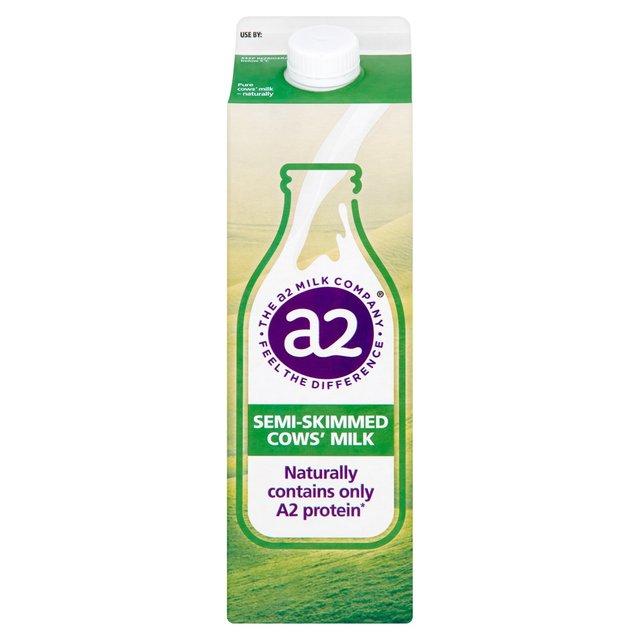 A2 Milk Semi Skimmed 1L From Ocado