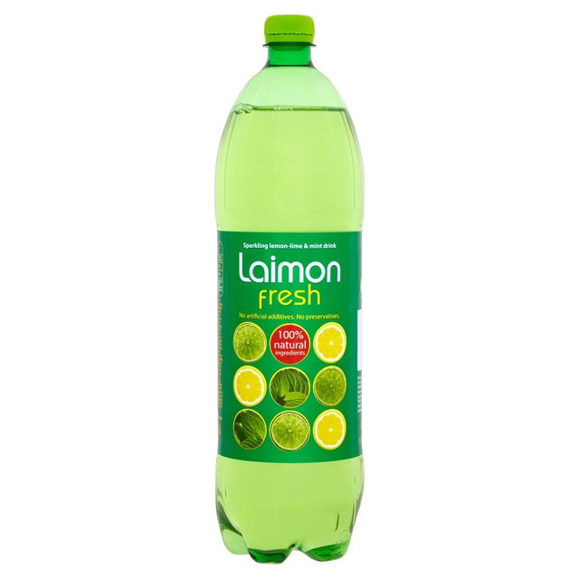 Laimon Fresh Lemon, Lime & Mint Soft Drink 1.5L from Ocado