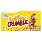 Nestle Toffee Crumble Lolly
