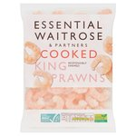 Essential Waitrose Frozen Cooked King Prawns