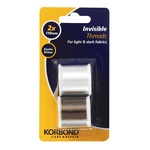 Korbond Invisible Threads Clear & Smoke 2x110m