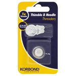 Korbond Thimble & Needle Threaders 4pcs