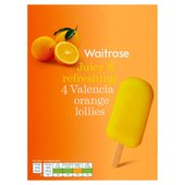 Waitrose Valencia Orange Lolly