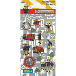 Fireman Sam Party Sticker Multi-Pack - 6 sticker sheets 3+