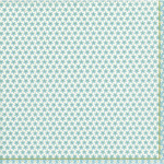 Calico Lunch Paper Napkins, Blue