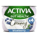 Activia Intensely Greek Style Blueberry Yogurts