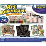3 in 1 Set, Paint by Numbers, Engraving & Colouring
