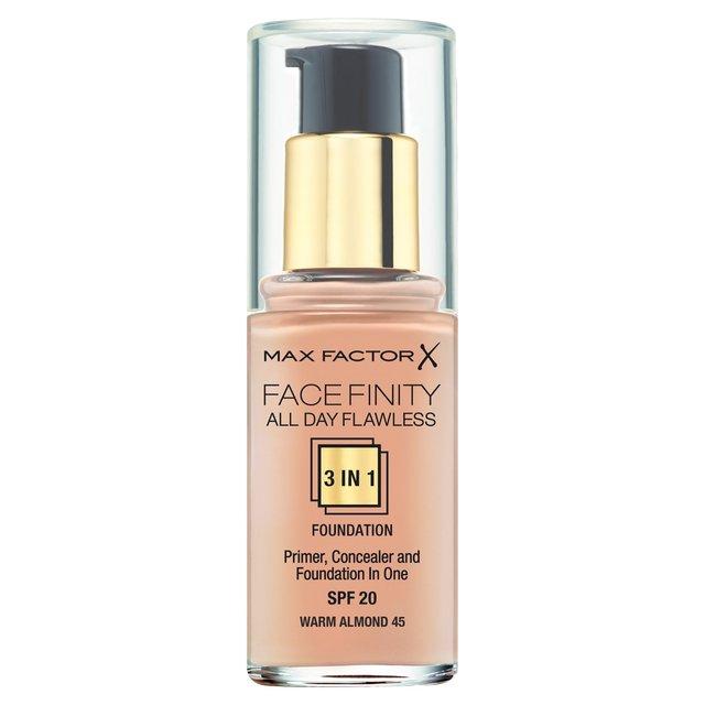 Max factor primer concealer foundation