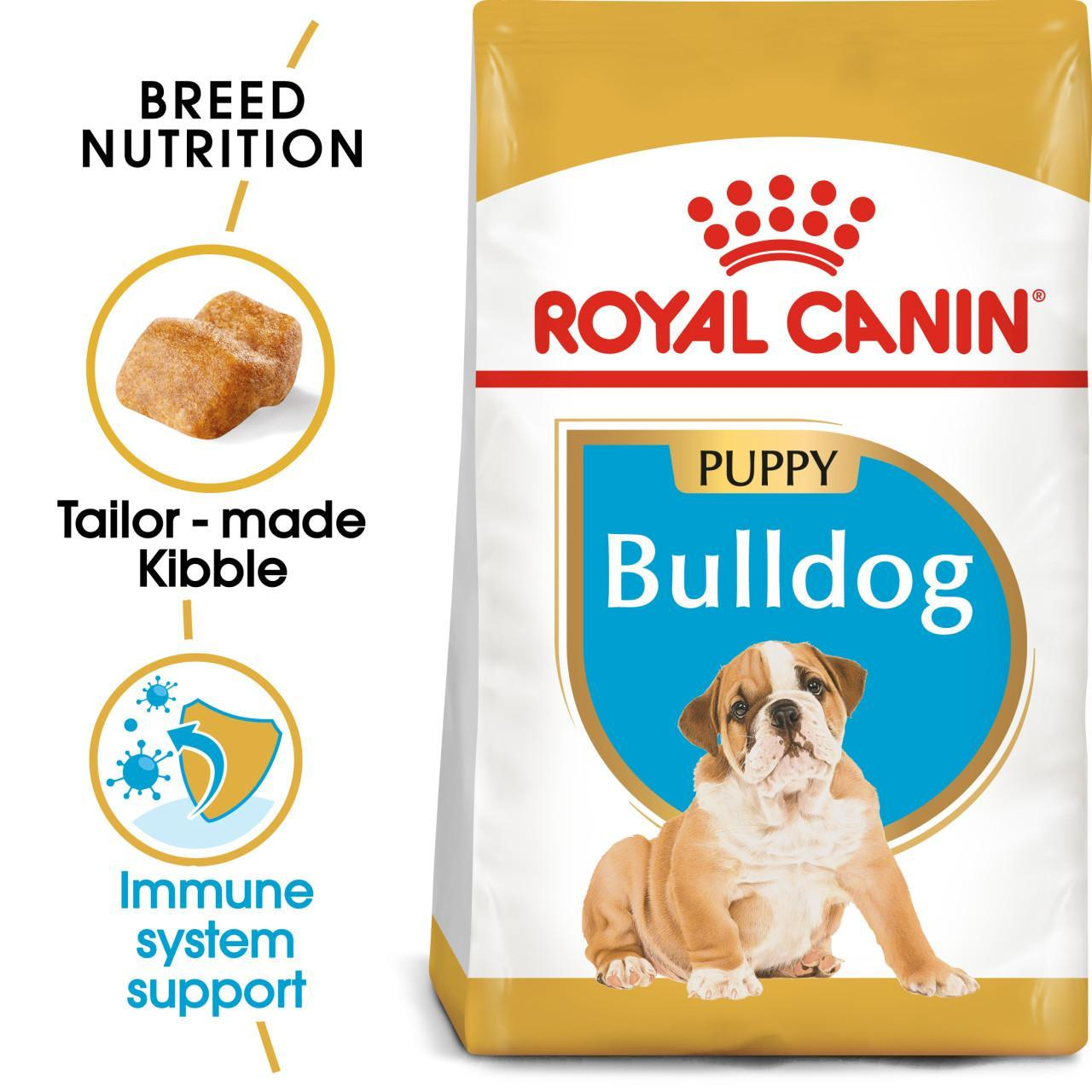An image of Royal Canin Junior Complete for Bulldog