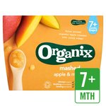Organix Mashed Apple & Mango Fruit Pots