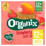 Organix Goodies Strawberry Oaty Bars