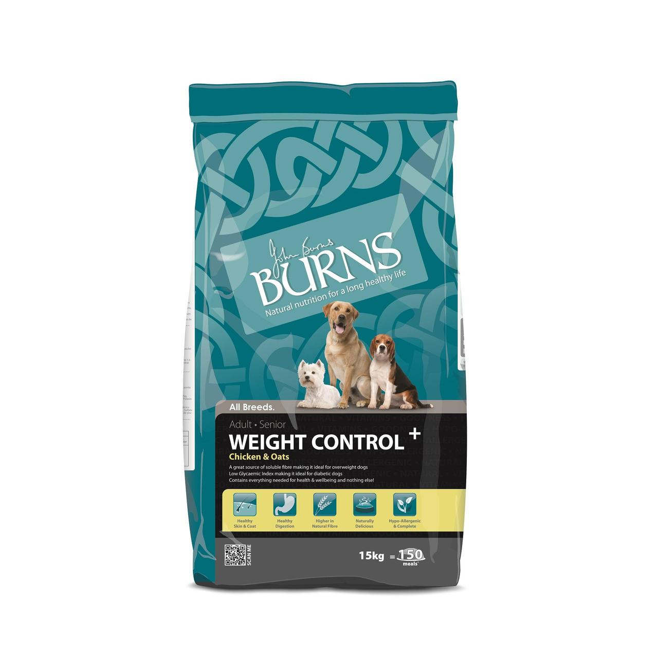 Burns Weight Control Adult Sen At Fetch Co Uk The Online Pet Store