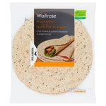 Waitrose Love Life Seeded Tortilla Wraps