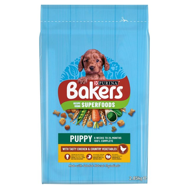 Bakers Small Dog Food Chicken Amp Vegetable 2 7kg From Ocado