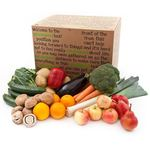Wholegood Organic Uber Fruit, Veg & Salad Box 12 Varieties