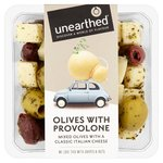 Unearthed Olives with Provolone