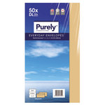 Purely Envelope Manilla Gummed DL