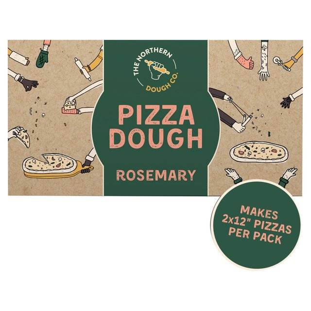 Northern Dough Co Rosemary Pizza