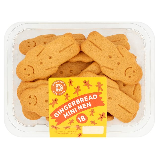 The Little Treat Co Mini Gingerbread Men Biscuits Ocado
