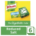 Knorr Vegetable Reduced Salt Stock Cubes