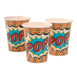 Ginger Ray Superhero Paper Cups, 266ml
