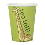 Dear Zoo Giraffe Paper Cups, 227ml
