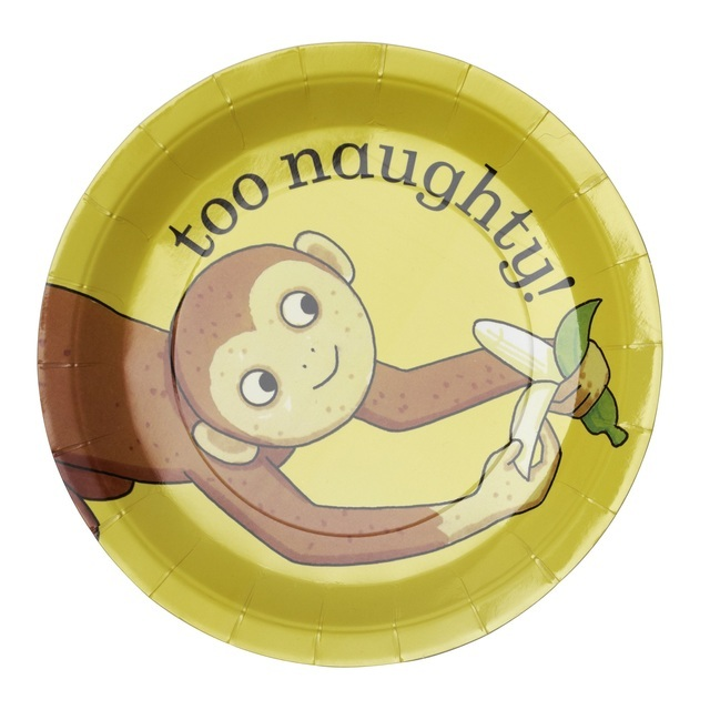 Dear Zoo Monkey Paper Plates ...  sc 1 st  Ocado & Dear Zoo Monkey Paper Plates 8 per pack from Ocado