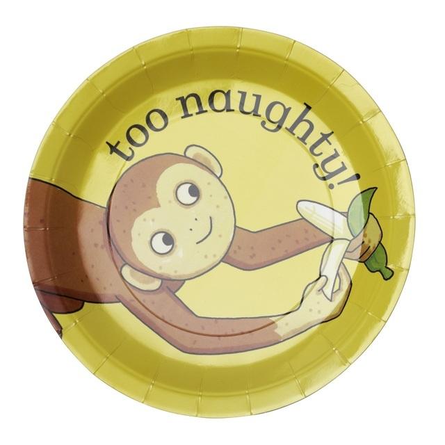 Dear Zoo Monkey Paper Plates ...  sc 1 st  Ocado & Dear Zoo Monkey Paper Plates 8 per pack from Ocado