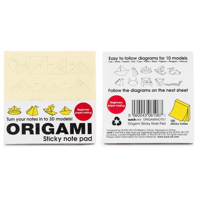 Origami Sticky Notes From Ocado