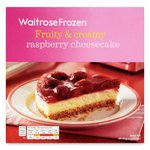 Waitrose Fruity & Creamy Raspberry Cheesecake Frozen