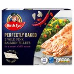 Birds Eye Inspirations 2 Salmon Fillets in a Chilli & Ginger Sauce Frozen