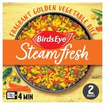 Birds Eye Steamfresh 2 Rice Golden Vegetable Frozen