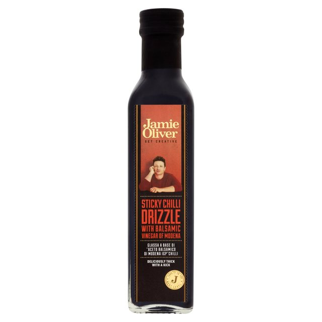 Jamie Oliver Sticky Chilli Balsamic Glaze 250ml From Ocado