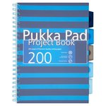 Pukka Pad A4 Blue Project Book