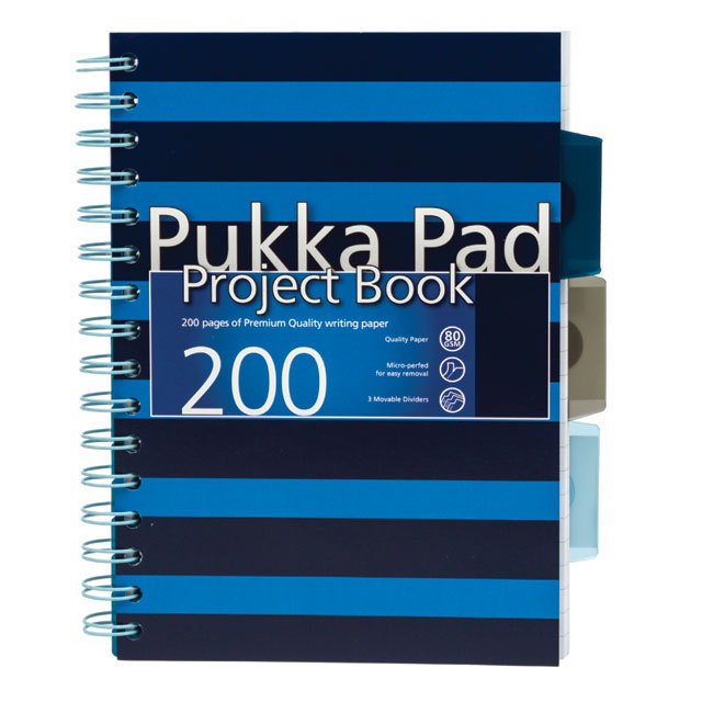 Pukka Pad A5 Blue Project Book