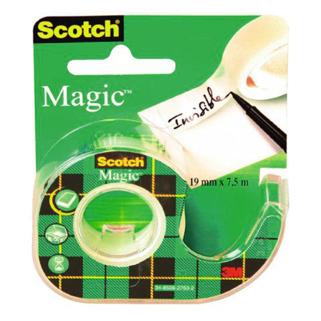 scotch magic tape dispenser 19mm x 75m