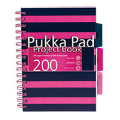 Pukka Pad A5 Pink Project Book