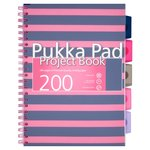 Pukka Pad A4 Pink Project Book