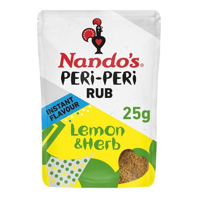 Image result for Nandos RUB Lemon & Herb Peri Peri 8x25g...