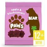 BEAR Pure Fruit Paws Apple & Blackcurrant