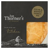 Jon Thorners Steak & Kidney Large Family Pie