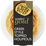 Ocado Gold Greek Topped Houmous