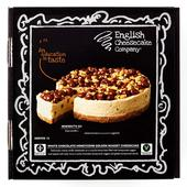 English Cheesecake co White Chocolate & Honeycomb Cheesecake Frozen