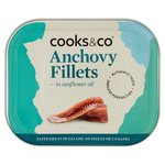 Cooks & Co Anchovy Fillets in Oil