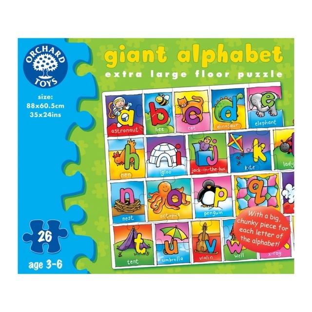 Orchard Toys Giant Alphabet Jigsaw Floor Puzzle 3yrs