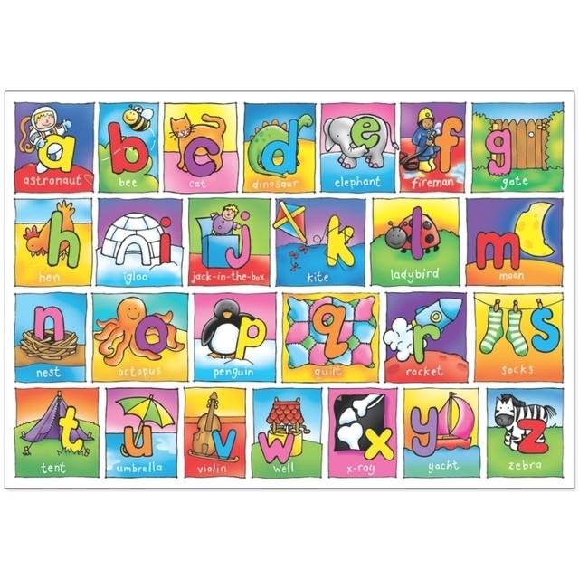 ... Orchard Toys Giant Alphabet Jigsaw Floor Puzzle, 3yrs+ ...