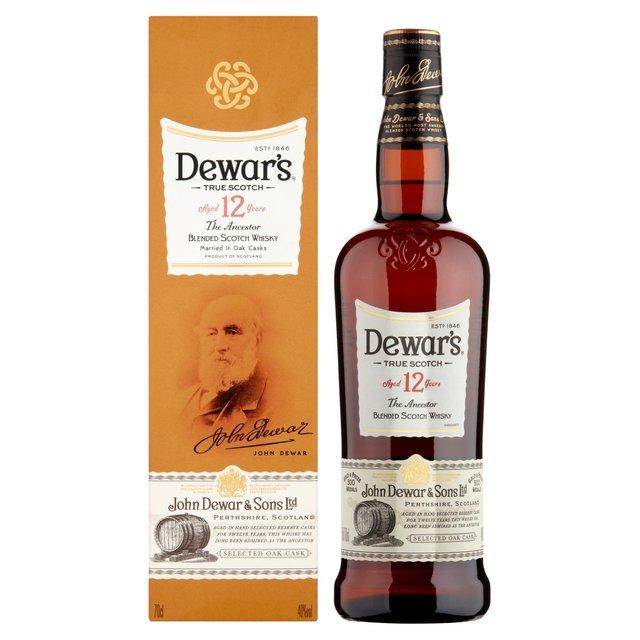 Dewar's Blended Scotch Whisky 70cl From Ocado