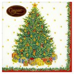 Christmas Tree 3ply Paper Napkins, 33cm