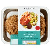 Easy To Cook Thai Style Salmon Fishcakes with Sweet Chilli Sauce