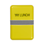 Yay Lunch Glossy Lunch Box, 18cm
